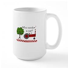 Who needs a car? Mugs