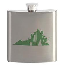 Virginia Home Flask