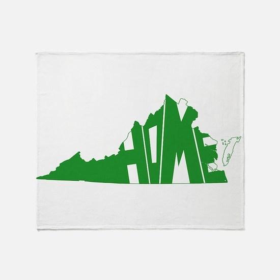 Virginia Home Throw Blanket