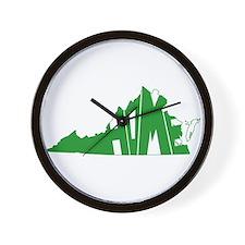 Virginia Home Wall Clock