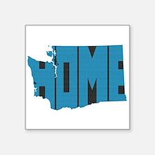 "Washington Home Square Sticker 3"" x 3"""