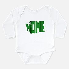 Washington Home Long Sleeve Infant Bodysuit