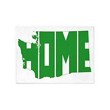 Washington Home 5'x7'Area Rug