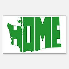 Washington Home Sticker (Rectangle)