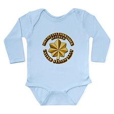 Navy - Lieutenant Comm Long Sleeve Infant Bodysuit