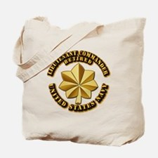 Navy - Lieutenant Commander - O-4 - V1 - Tote Bag