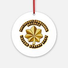 Navy - Lieutenant Commander - O-4 Ornament (Round)