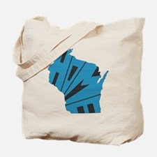 Wisconsin Home Tote Bag