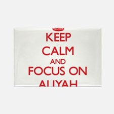 Keep Calm and focus on Aliyah Magnets