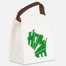 Wisconsin Home Canvas Lunch Bag
