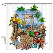 beachshack9x.jpg Shower Curtain