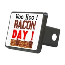 Woo Hoo Bacon Day Hitch Cover