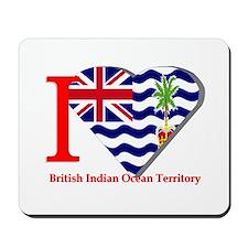 I love British Indian Mousepad