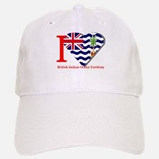 I love British Indian Baseball Baseball Cap