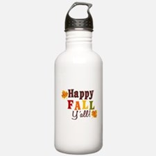 Happy Fall Yall! Water Bottle