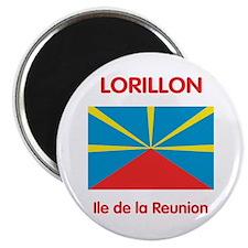 dix aimants avec motif Lorillon