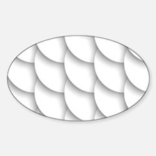 White Pattern Decal