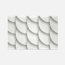 White Pattern Magnets