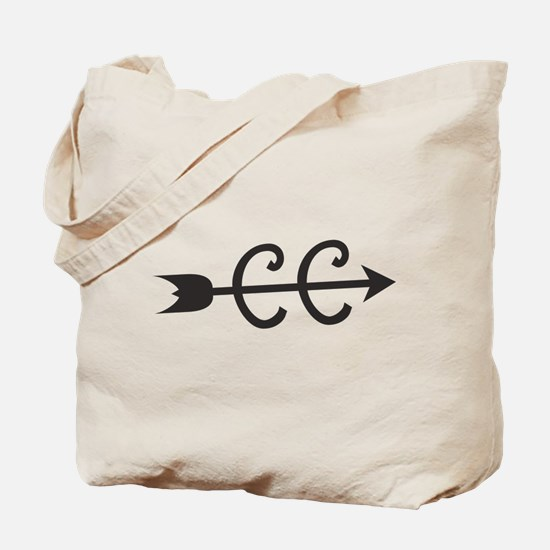 cross country symbol Tote Bag