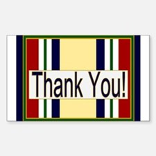 Iraq Veteran Thank You Decal