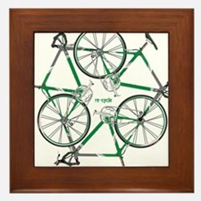 Funny Recycle Framed Tile
