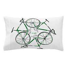 Cute Bike Pillow Case