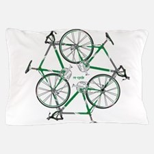 Funny Recycle symbol Pillow Case