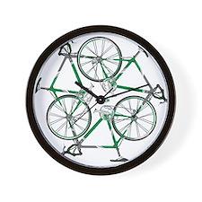 Funny Bicycle Wall Clock