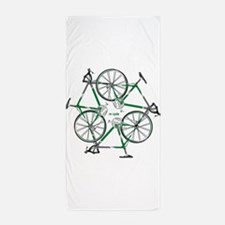 Cute Biking Beach Towel