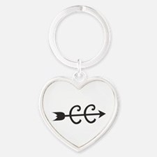cross country symbol Keychains