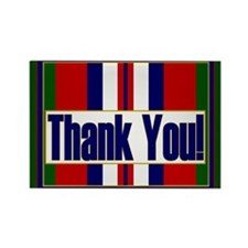 Thank an Afghanistan Veteran Rectangle Magnet