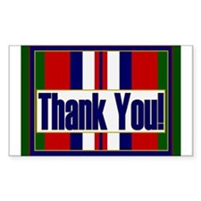 Thank an Afghanistan Veteran Decal