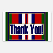 Thank an Afghanistan Veteran Decal