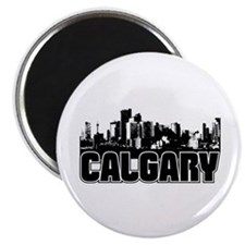 """Calgary Skyline 2.25"""" Magnet (10 Pack) Magnet"""