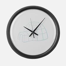 Igloo Large Wall Clock