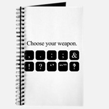 Choose Your Weapon (punctuation) Journal