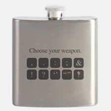 Choose Your Weapon (punctuation) Flask