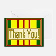 Vietnam Veteran Thank You Greeting Card