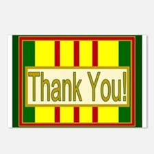 Vietnam Veteran Thank You Postcards (Package of 8)