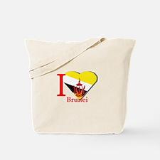 I love Brunei Tote Bag