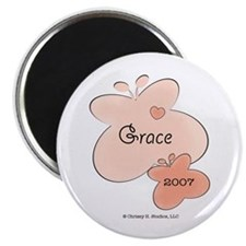 Grace 2007 Name Birth Year Butterfly Magnet 10 pk