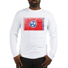 Vintage Tennessee Flag Long Sleeve T-Shirt