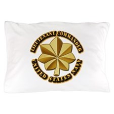 Navy - Lieutenant Commander - O-4 - V1 Pillow Case