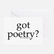 Got Poetry? Greeting Cards (Pk of 10)
