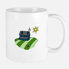 Sweet Home Building House Farm Scene Mugs