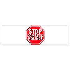STOPDOMVIOLENCE Bumper Bumper Sticker
