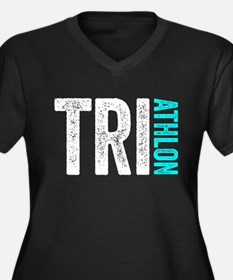 Triathlon Plus Size T-Shirt