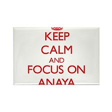 Keep Calm and focus on Anaya Magnets