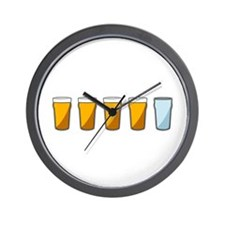4 Beers and 1 Tapwater (Shaun of the Dead) Wall Cl