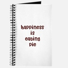 happiness is eating pie Journal